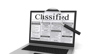 Online classified advertisement
