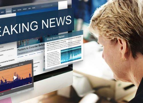 The mobile compatible news platform on online